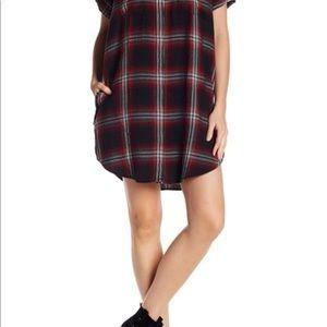 Plaid Madewell shirtdress